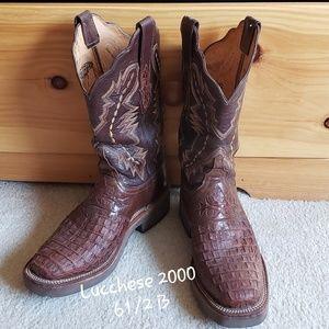 Lucchese 2000 Women's Alligator Boots
